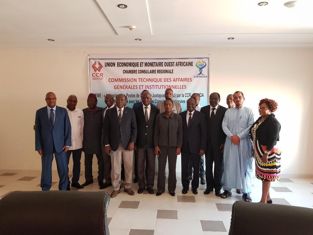 Membres de la CTAGI à l'issue de la cérémonie d'ouverture de la 2e réunion 2019