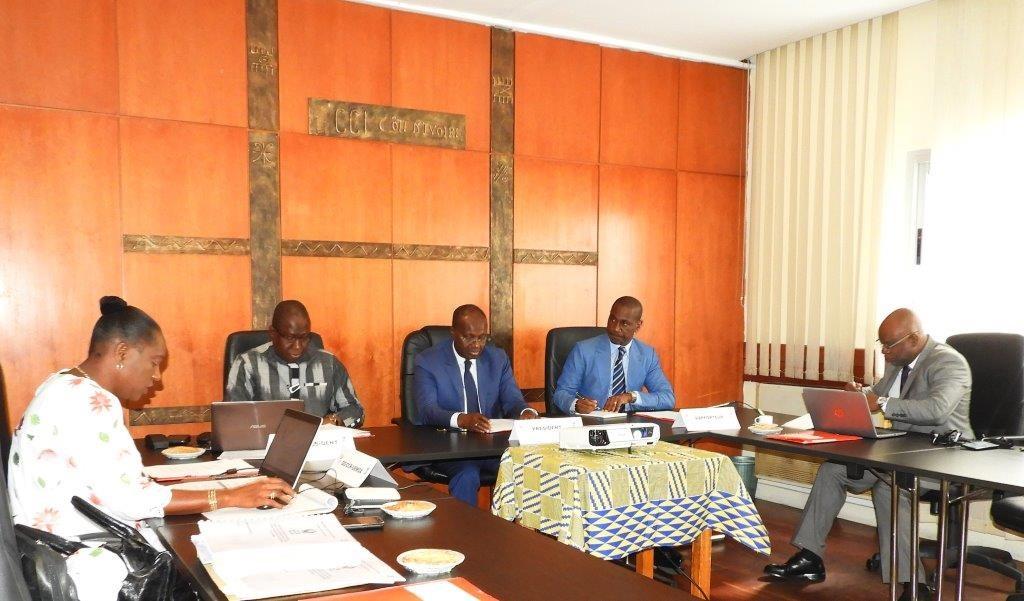 Réunion Com adhoc RBG 2019 à Abidjan